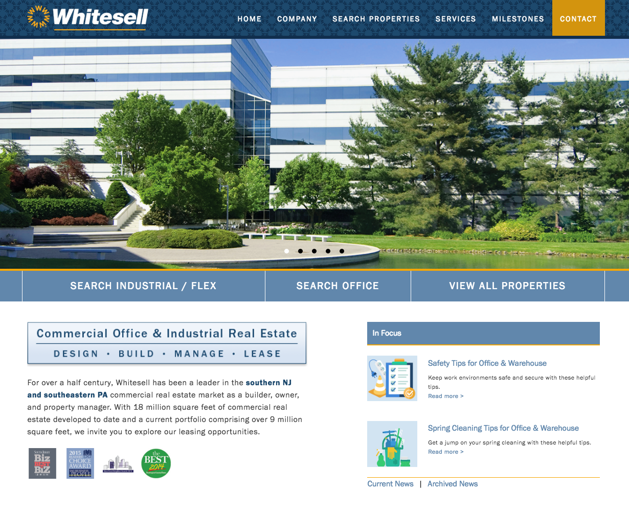 Whitesell Homepage